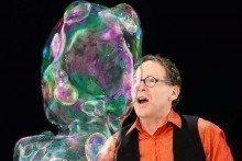The Amazing Bubble Man
