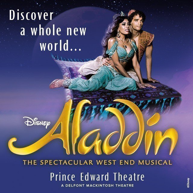 Aladdin The Musical Cheap Theatre Tickets Prince