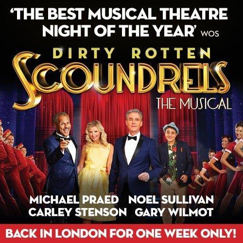 Dirty Rotten Scoundrels Musical Tour