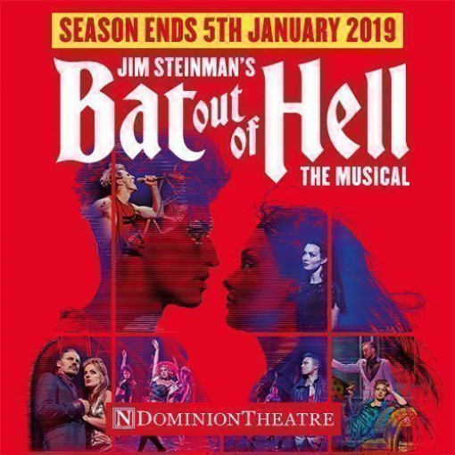 Best Musical Winner BAT OUT OF HELL Returns to West End