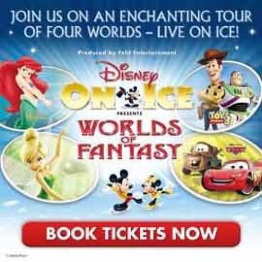 Disney On Ice - Worlds Of Fantasy: Wembley Arena