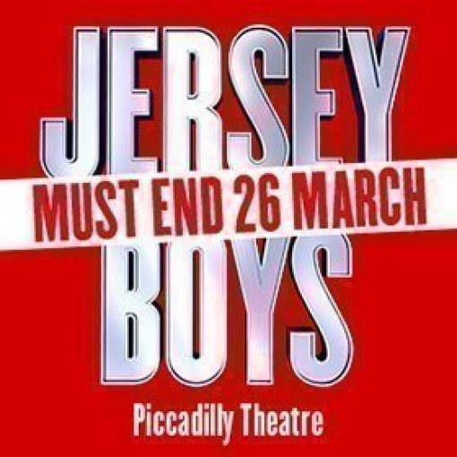 JERSEY BOYS to close in London 26 March 2017