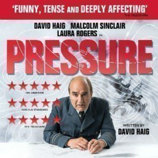 PRESSURE written by and starring DAVID HAIG transfers to the Ambassadors Theatre