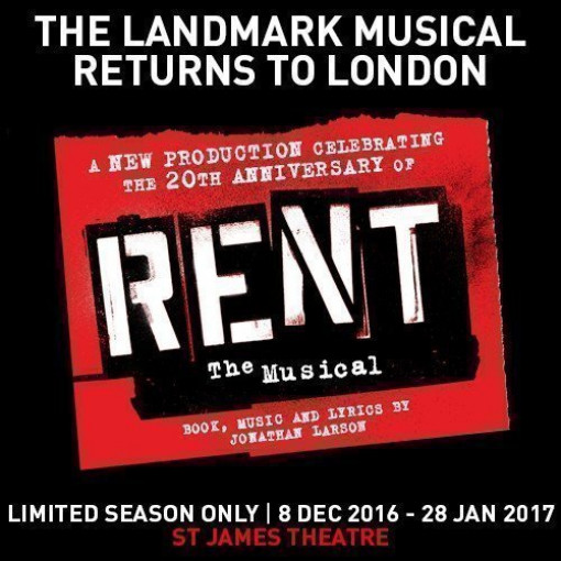 RENT Tour Dates Added, Rehearsals Begin Today