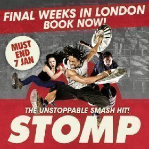 STOMP London Run Extends into 2018