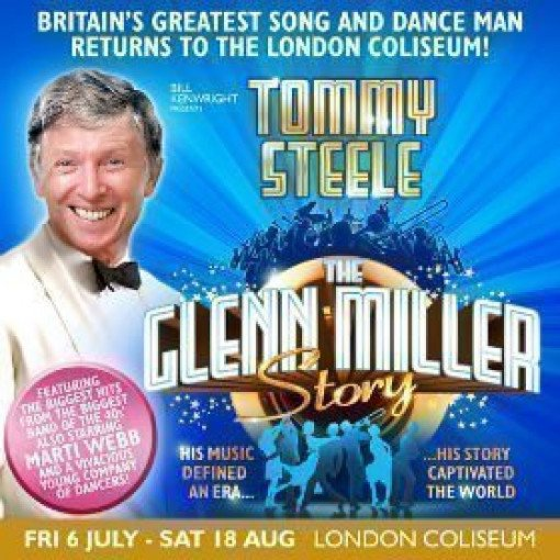 Tommy Steele returns to The London Coliseum in THE GLENN MILLER SHOW