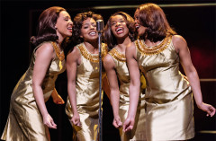 left to right: Hannah Jay-Allan, Adrienne Warren, Perola Congo and Sia Kiwa (Tina and the Ikettes). Photo by Manuel Harlan