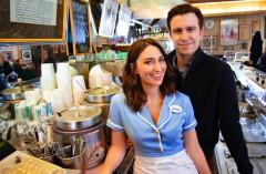 Sara Bareilles and Gavin Creel. Waitress promo image. Credit Shervin Lainez