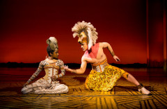 The Lion King - Nick Afoa as Simba, Janique Charle