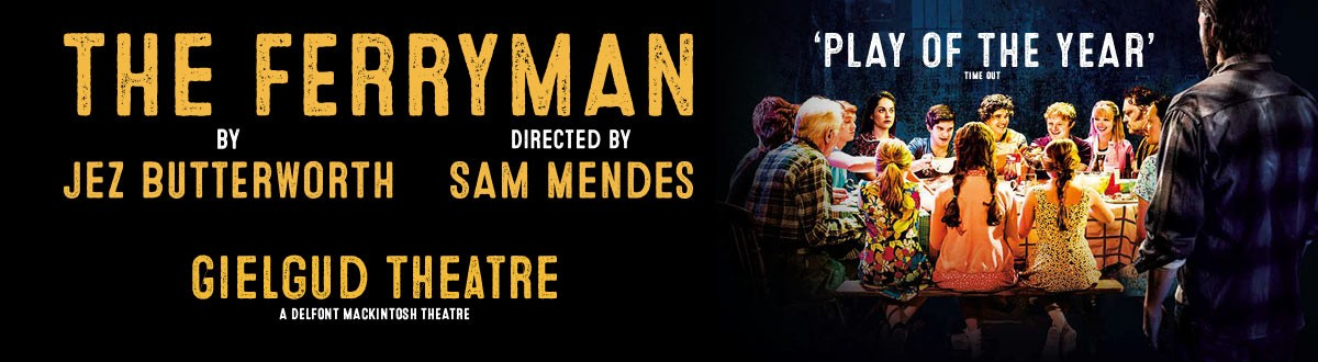 "The Ferryman - ""Play of the Year"" - Tickets from £12"