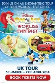 Disney On Ice - Worlds Of Fantasy: Wembley Arena
