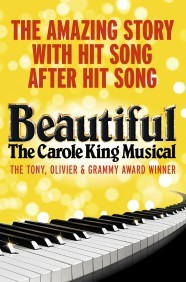 Beautiful - The Carole King Musical extends booking in West End to February 2017