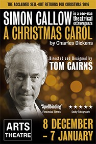 A Christmas Carol with Simon Callow
